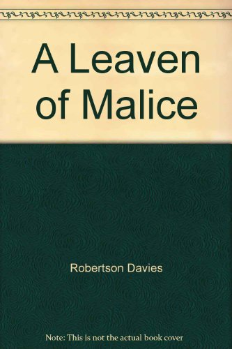 9781550413007: Leaven of Malice (Canadian Literary Classics Large Print Library)