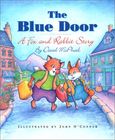 9781550416473: The Blue Door: A Fox and Rabbit Story (First Flight Early Readers)