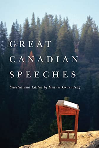 9781550419146: Great Canadian Speeches