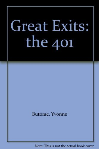 Great Exits: The 401: Butorac, Yvonne.