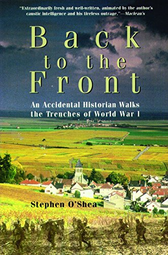 9781550545777: Back to the Front : An Accidental Historian Walks the Trenches of World War I