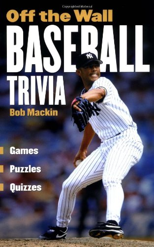 9781550548211: Off The Wall Baseball Trivia: Games * Puzzles * Quizzes