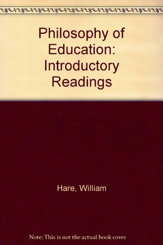 9781550591361: Philosophy of Education: Introductory Readings