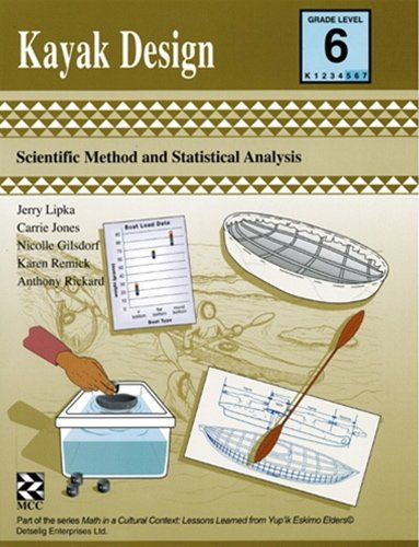 9781550594041: Kayak Design - Kit: Scientific Method and Statistical Analysis (Math in a Cultural Context)