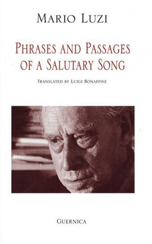 9781550710779: Phrases and Passages of a Salutary Song (Essential Poets Series 84)