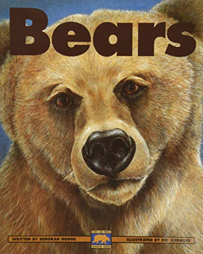 9781550743555: Bears: Polar Bears, Black Bears and Grizzly Bears (Kids Can Press Wildlife Series)