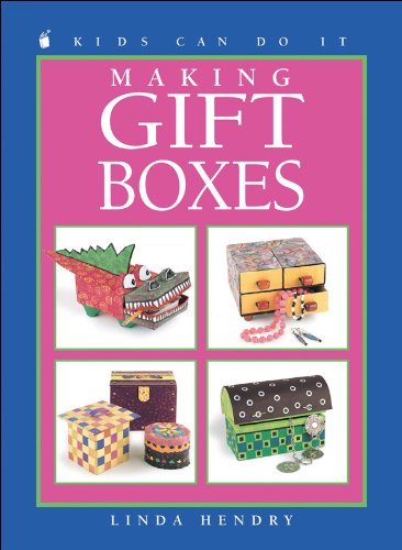 9781550745030: Making Gift Boxes (Kids Can Do It)