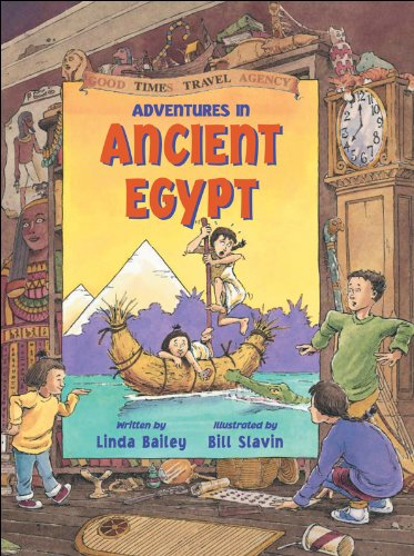 9781550745467: Adventures in Ancient Egypt (Good Times Travel Agency)