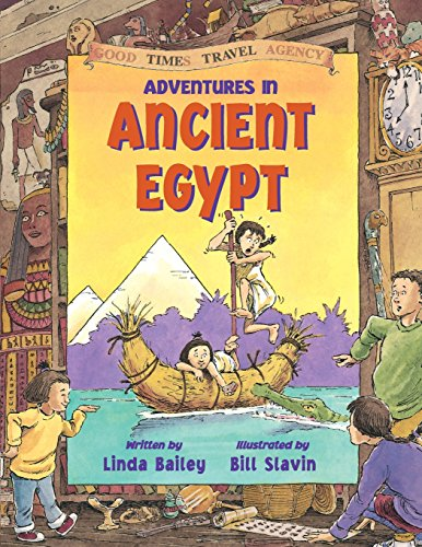 9781550745481: Adventures in Ancient Egypt (Good Times Travel Agency)