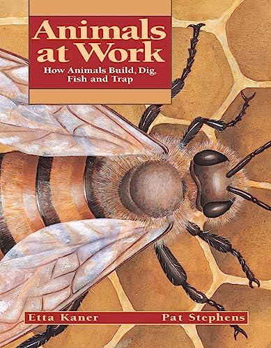 Animals at Work: How Animals Build, Dig, Fish and Trap (Animal Behavior): Etta Kaner