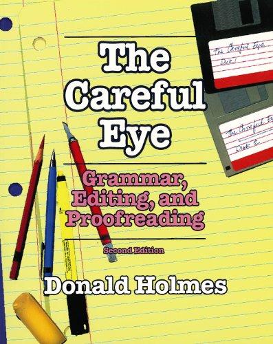 9781550770674: Careful Eye: Grammar, Editing and Proofreading Exercises