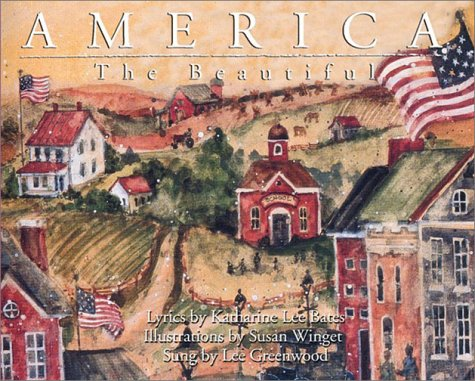 9781550823004: America the Beautiful with CD (Audio) (Quarry Heritage Books)