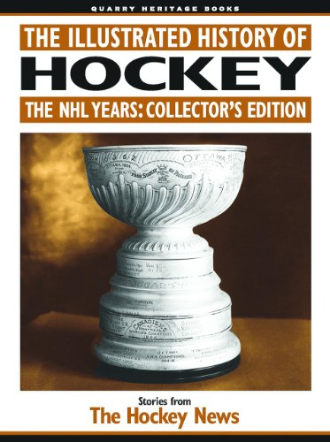 9781550824001: The Illustrated History of Hockey: The NHL Years