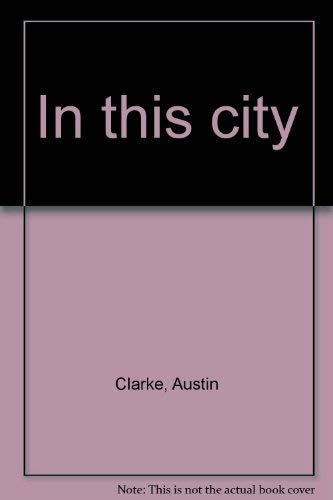 9781550960839: In this city