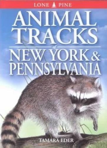 Animal Tracks of New York and Pennsylvania (Animal Tracks Guides): Tamara Eder