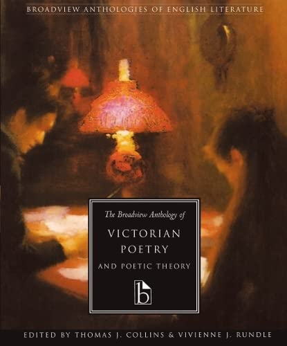 9781551111001: The Broadview Anthology of Victorian Poetry & Poetic Theory