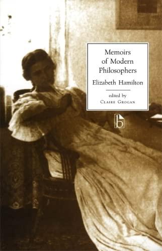 9781551111483: Memoirs of Modern Philosophers (Broadview Literary Texts)