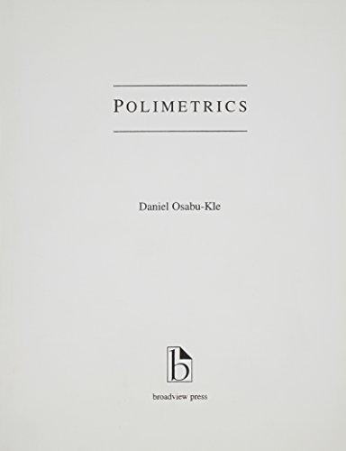 9781551111612: An Introduction to Polimetrics