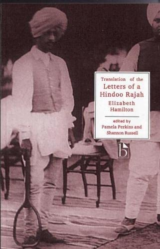 9781551111759: Translation of the Letters of a Hindoo Rajah