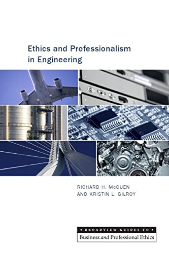 9781551112831: Ethics and Professionalism in Engineering (Broadview Guides to Business and Professional Ethics)