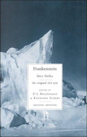 9781551113081: Frankenstein: the original 1818 text (Broadview Literary Texts)