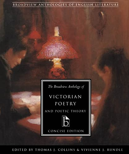 9781551113661: The Broadview Anthology of Victorian Poetry and Poetic Theory: Concise Edition