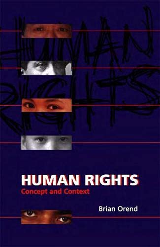 9781551114361: Human Rights: Concept and Context