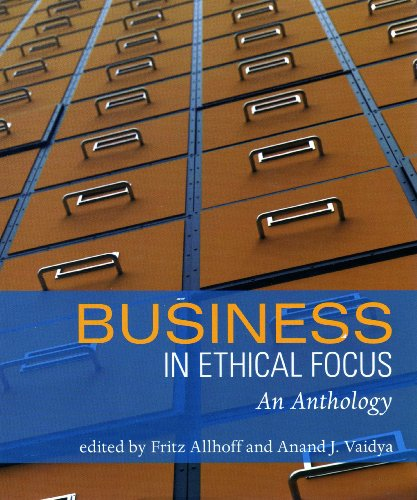 9781551116617: Business in Ethical Focus: An Anthology