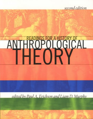 9781551117607: Readings for a History of Anthropological Theory, Second Edition