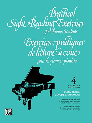 9781551220307: Practical Sight Reading Exercises for Piano Students, Book 4