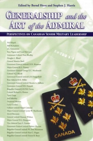 Generalship and the Art of the Admiral: Stephen John Harris (Editor);