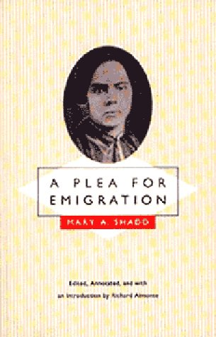 A Plea for Emigration by Mary Shadd
