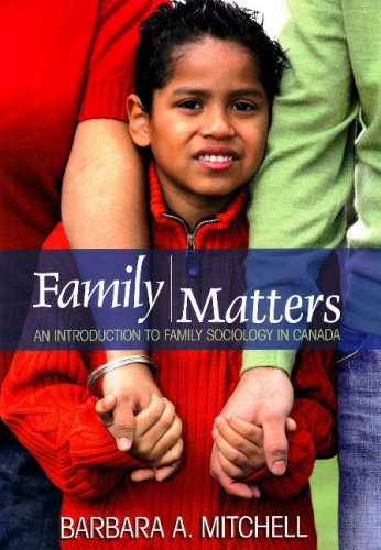 9781551303413: Family Matters: An Introduction to Family Sociology in Canada