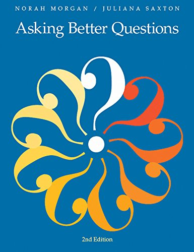 Asking Better Questions (Second Edition): Norah Morgan; Juliana