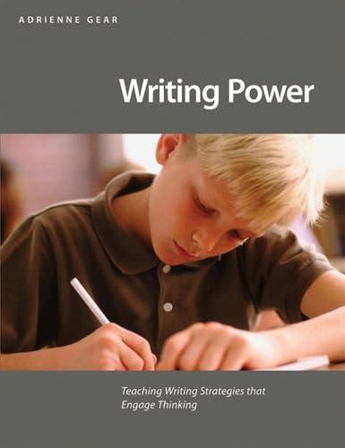 9781551382630: Writing Power: Teaching Writing Strategies That Engage Thinking