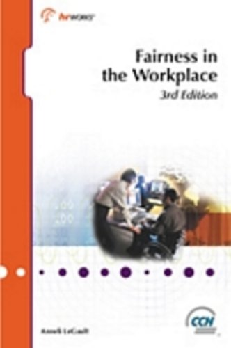 9781551410593: Fairness in the Workplace