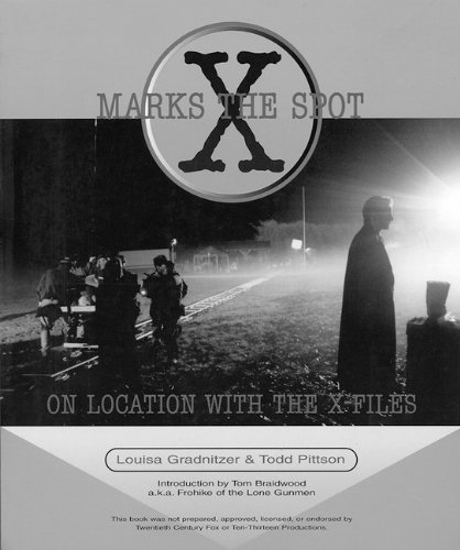 9781551520667: X Marks the Spot: On Location With The X-Files (X-Files (Checker Book))