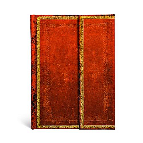 9781551563428: Leather Handtooled Midi Journal (Paperblanks)