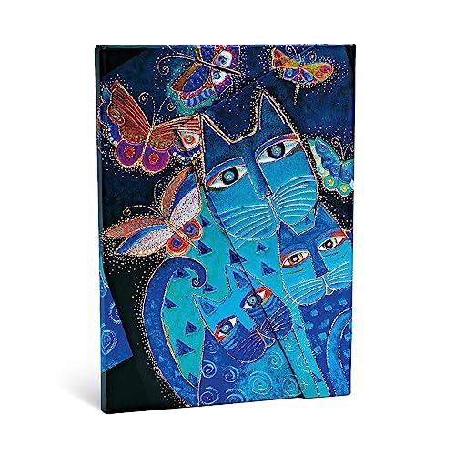 9781551563978: FELINES BLUE CATS BUTTERFLIES MIDI JOURN