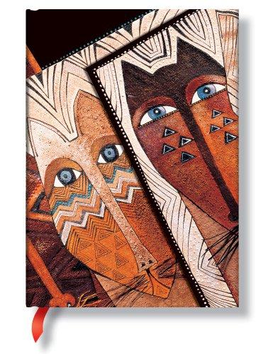 9781551563985: Smythe Sewn Fantastic Felines Native Cats (Paperblanks)