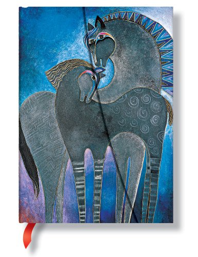 9781551565415: Laurel Burch: Indigo Sky Mares - Mystical Horses; 160-page Lined Journal (PaperBlanks)