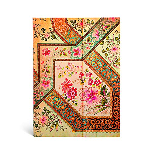 9781551565507: Paperblanks Impressions Florales Lyonnaises Ivoire Carnet de note Ligné Midi Multicolore