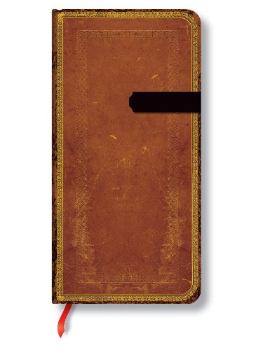 9781551565736: Handtooled Slim Unlined Journal (Old Leather Slim)