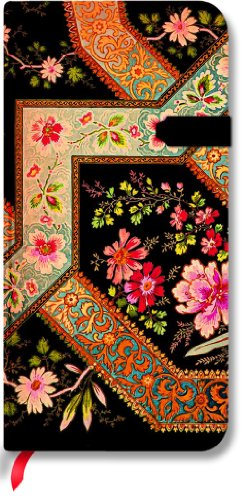 9781551567198: Lyon Floral Filigree Floral Ebony Slim Lined (Lyon Florals)