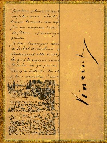 Embellished Wrap Vincent Van Gogh Ultra Unlined (Embellished Manuscripts Collection): Paperblanks ...
