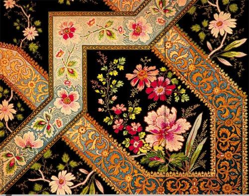 9781551567549: Lyon Florals Fligree Floral Ebony Guestbook Lined