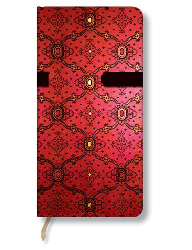 French Ornate Cherry Slim Lined: Paperblanks Book Company