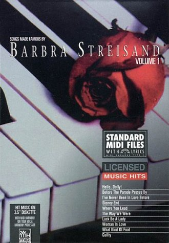 9781551700687: Songs Made Famous by Barbra Streisand - Volume 1