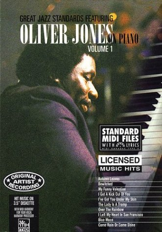 9781551700885: Great Jazz Standards Featuring Oliver Jones on Piano - Vol. 1