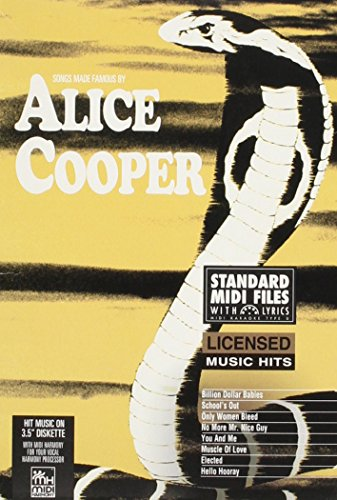 Songs Made Famous by Alice Cooper (9781551700915) by Alice Cooper